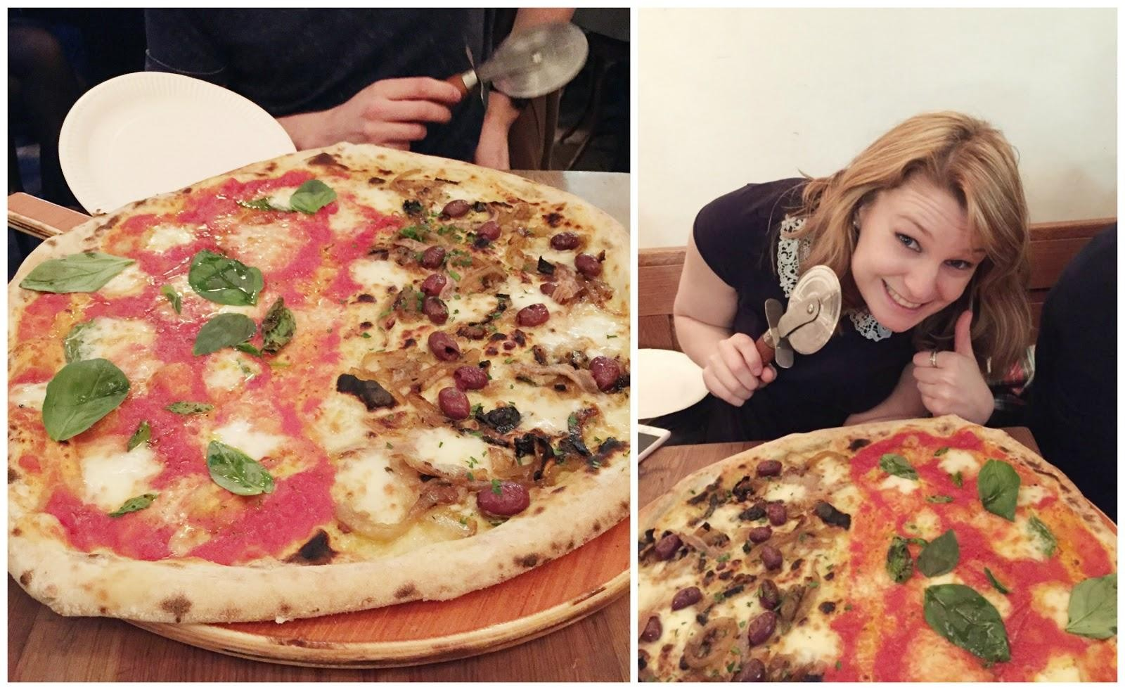 Homeslice Pizza London Restaurant Review Charlotte Ruff