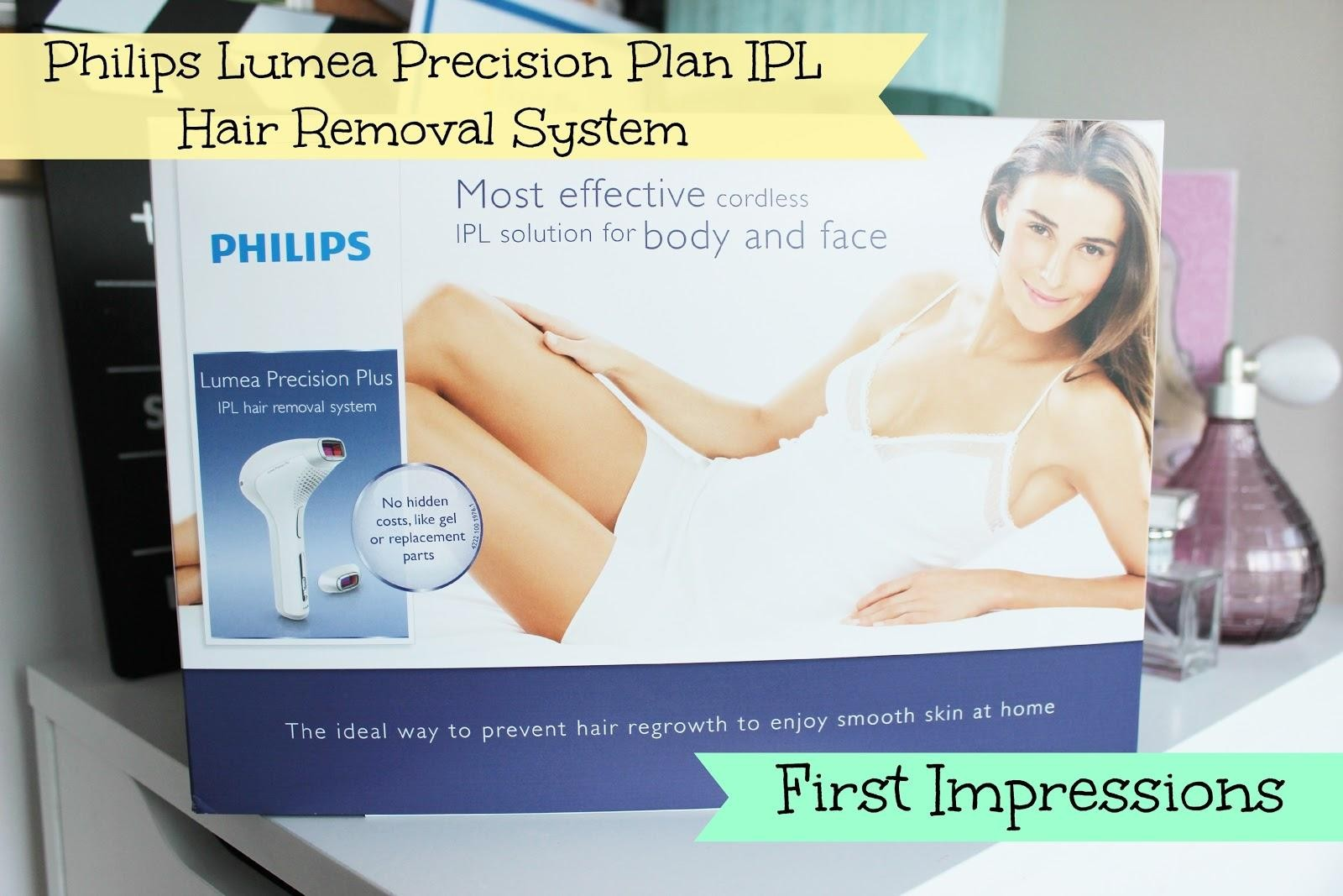 Philips Lumea Precision Plan IPL Hair Removal System First Impressions