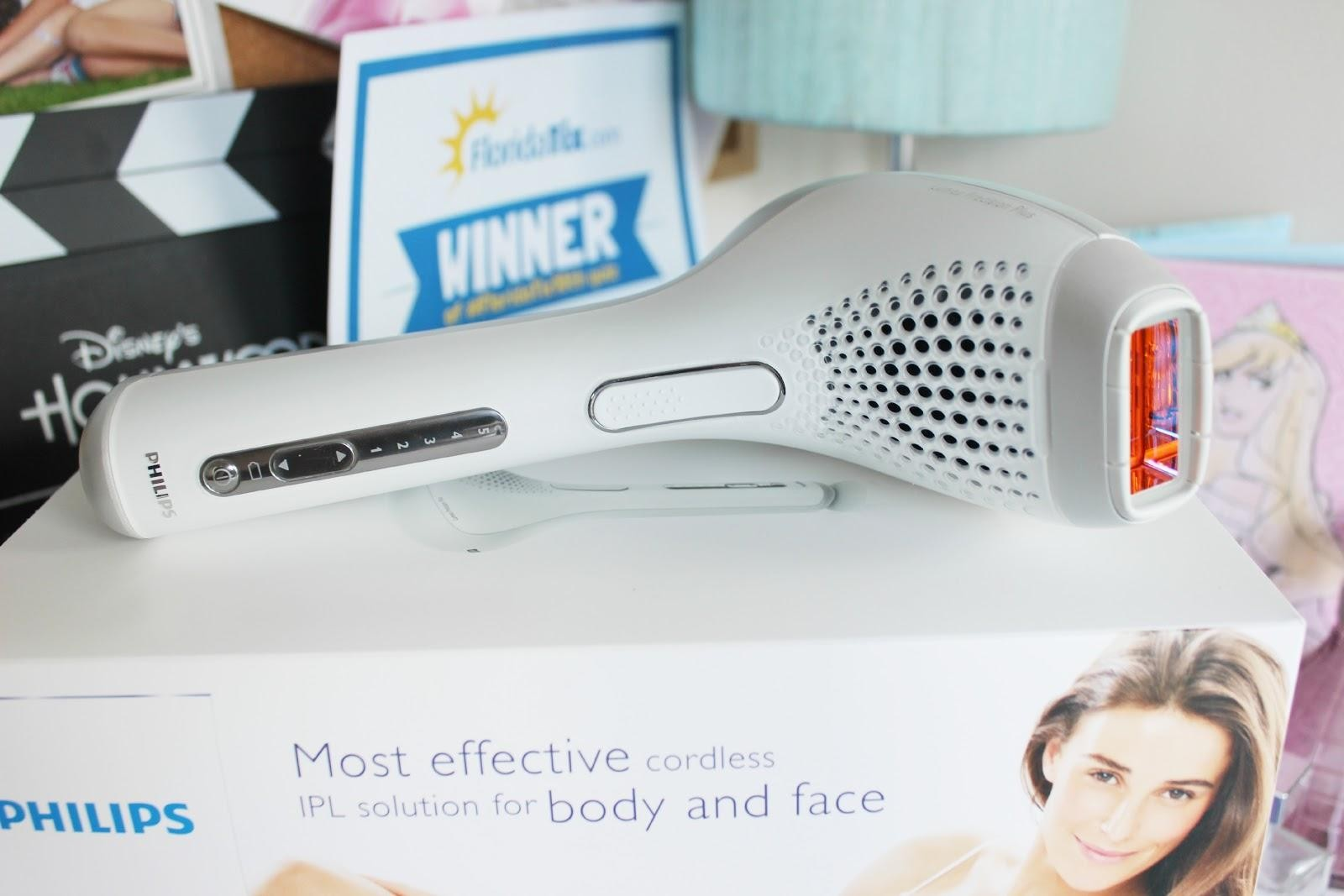 A picture of the Philips Lumea Precision Plan IPL Hair Removal System