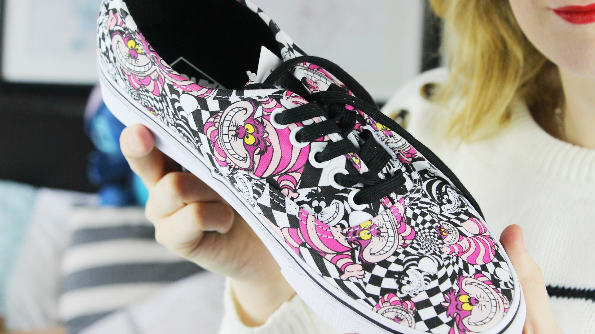 5a343b98f1accd Disney Vans Holiday Collection 2015 - Charlotte Ruff