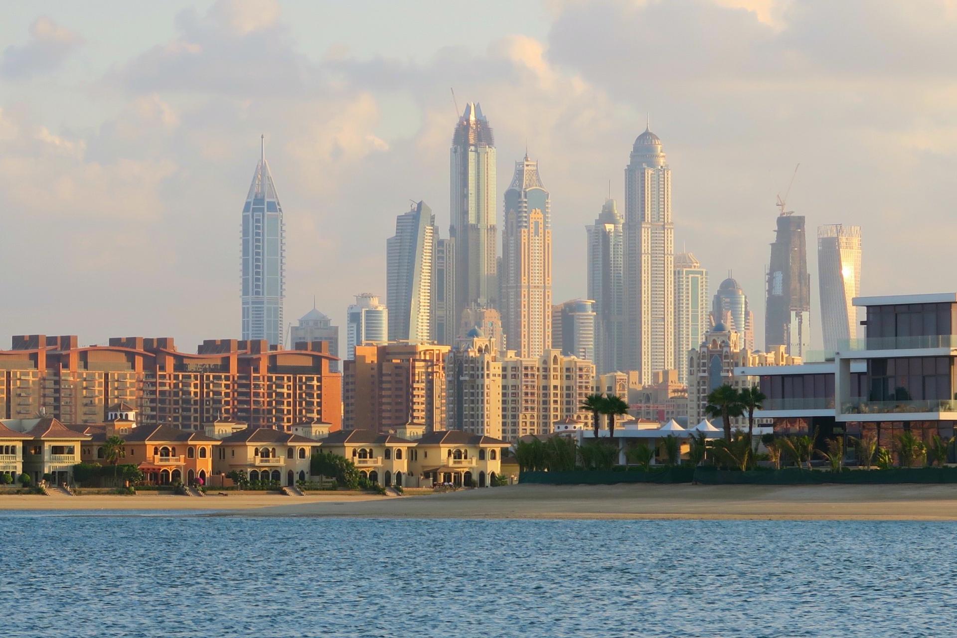 Sofitel Dubai The Palm Beach view