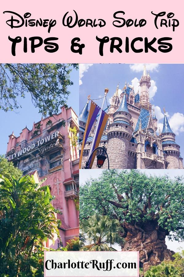 Disney World Solo Trips and Tricks