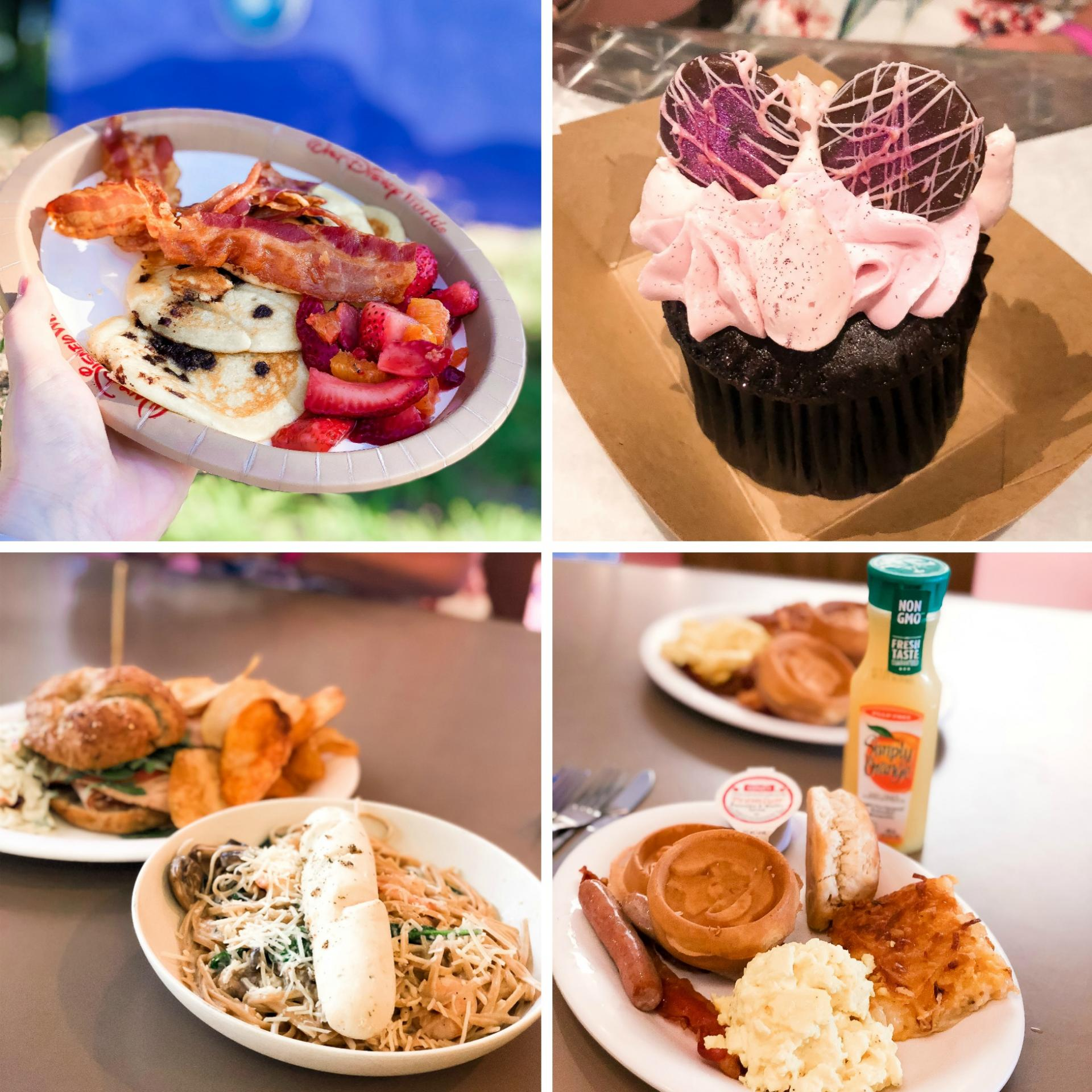 Selection of food available at Art of Animation Resort