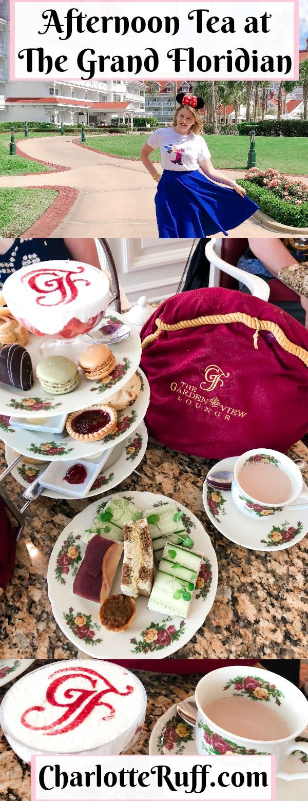 afternoon tea at the grand floridian pin