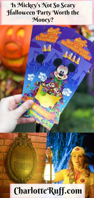 Mickey's not so scary halloween party pinterest image