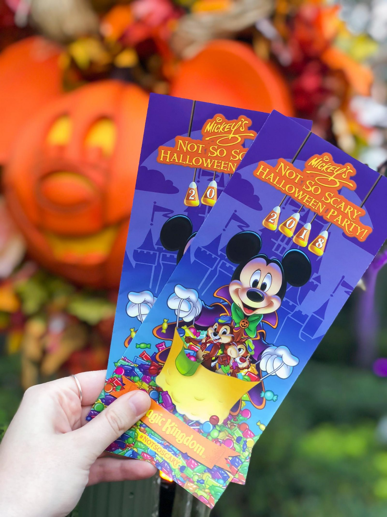 Mickey's Not So Scary Halloween Party Leaflet