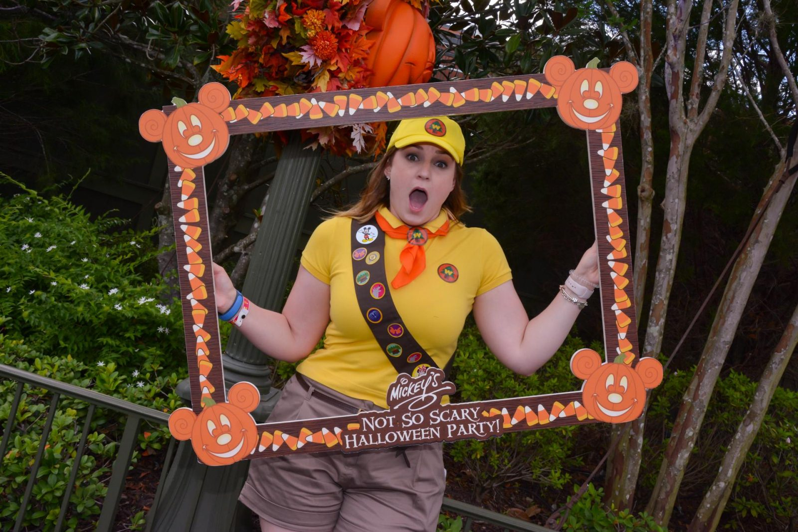 Mickey's Not So Scary Halloween Party Photo Opportunity