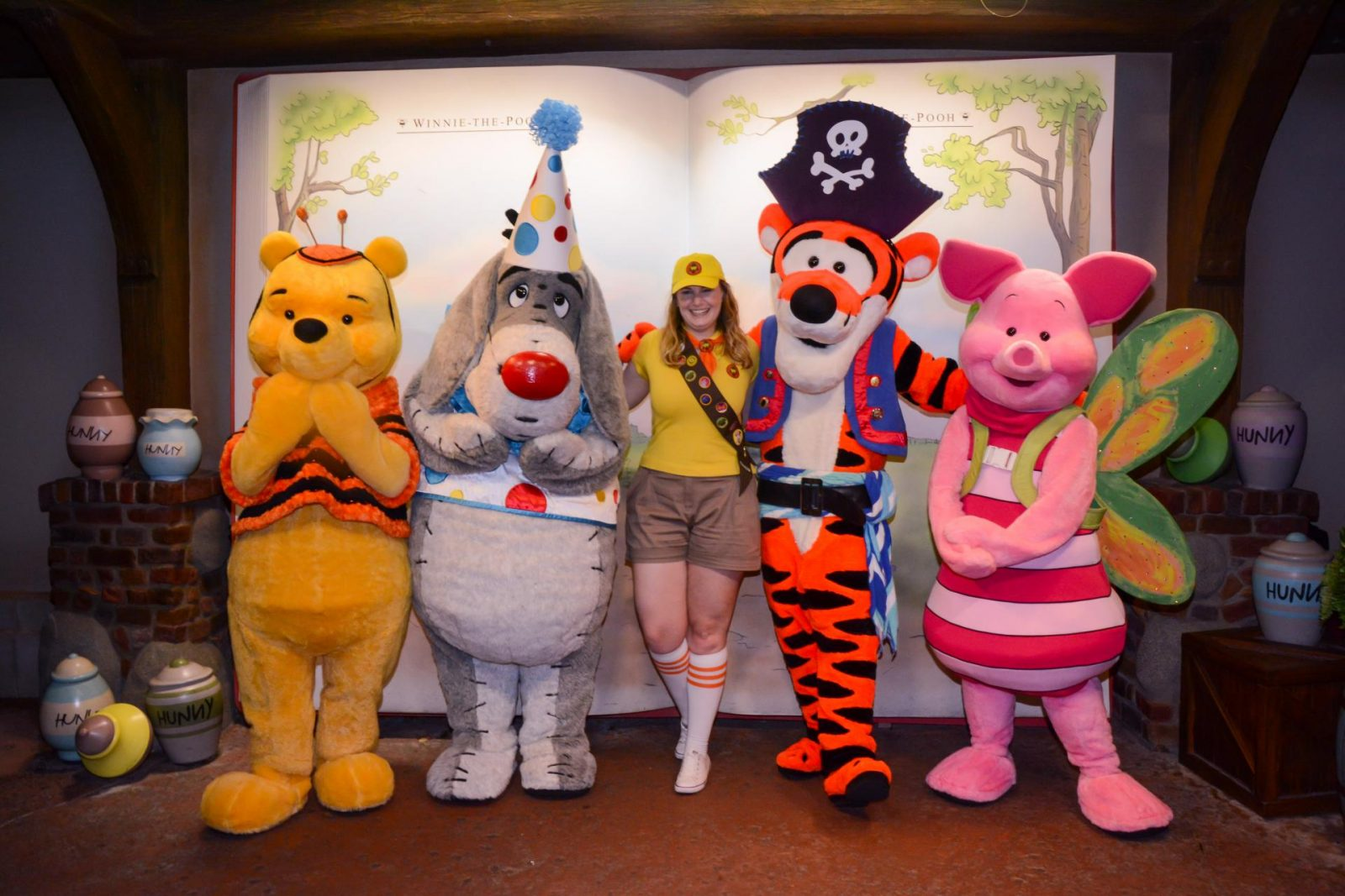 Mickey's Not So Scary Halloween Party Winnie the Pooh meet and greet
