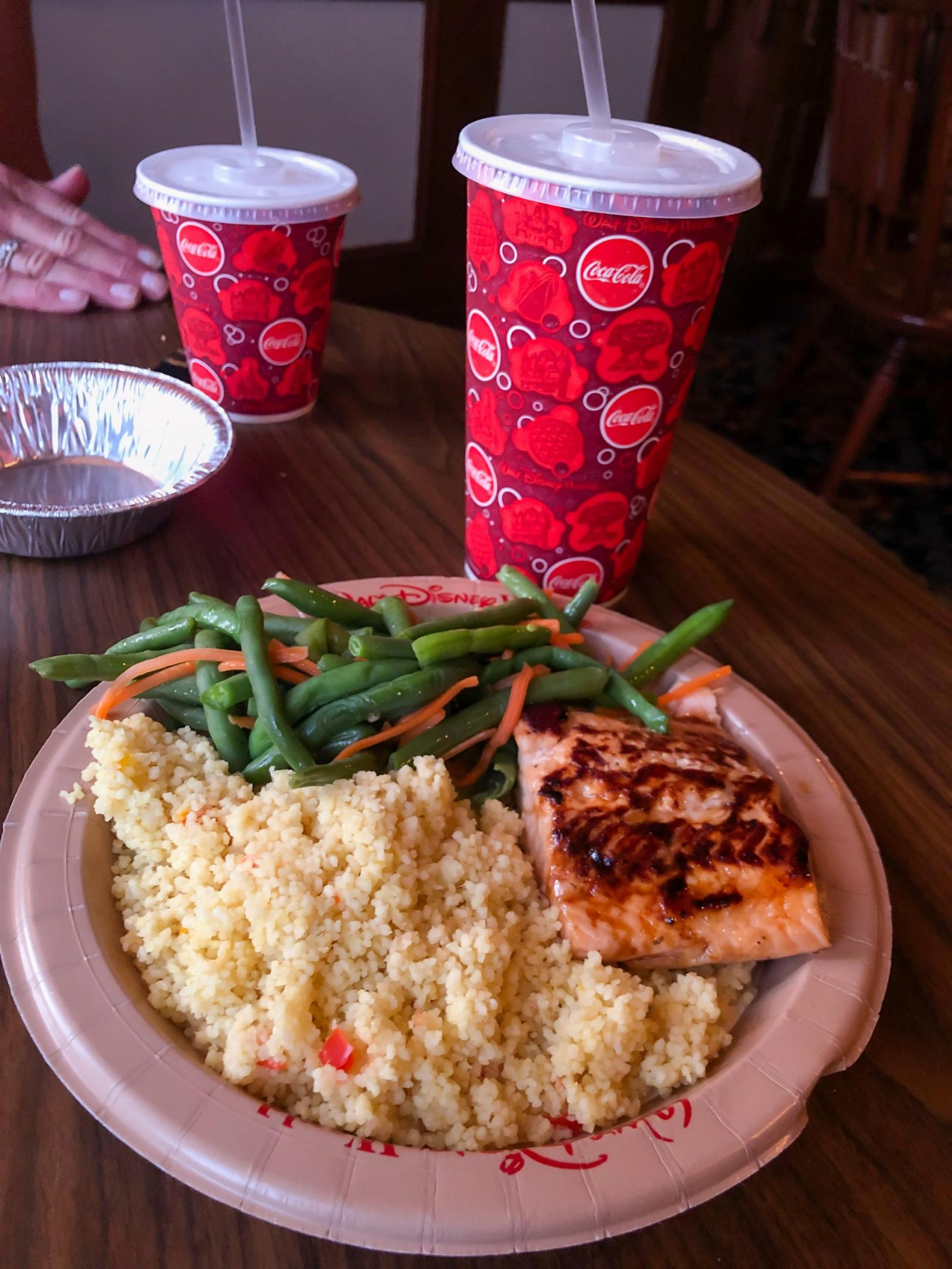 Grilled Salmon at Columbia Harbour House - Quick Service Restaurants at Disney World
