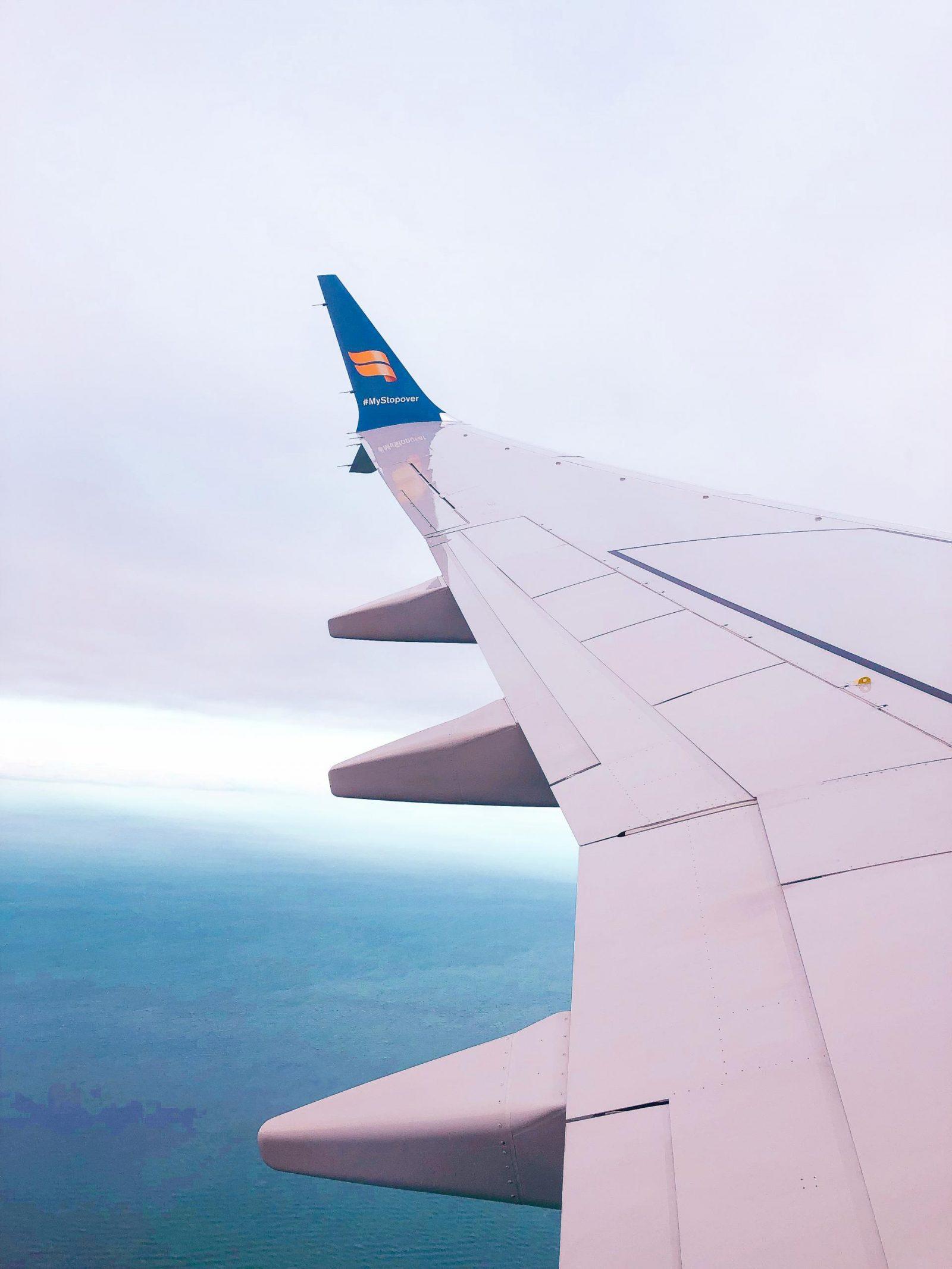 Icelandair flight to Reykjavik