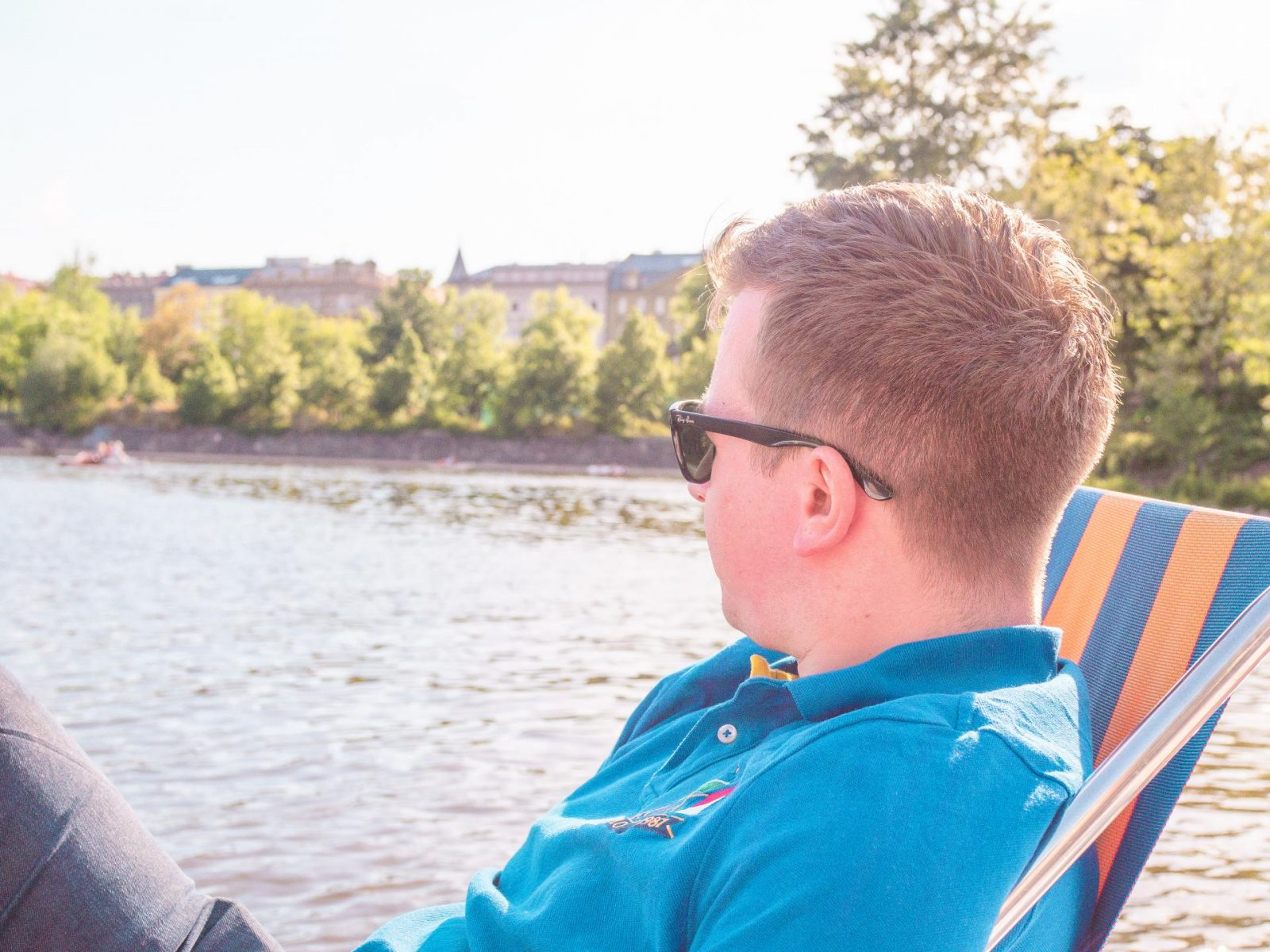 Prague by boat