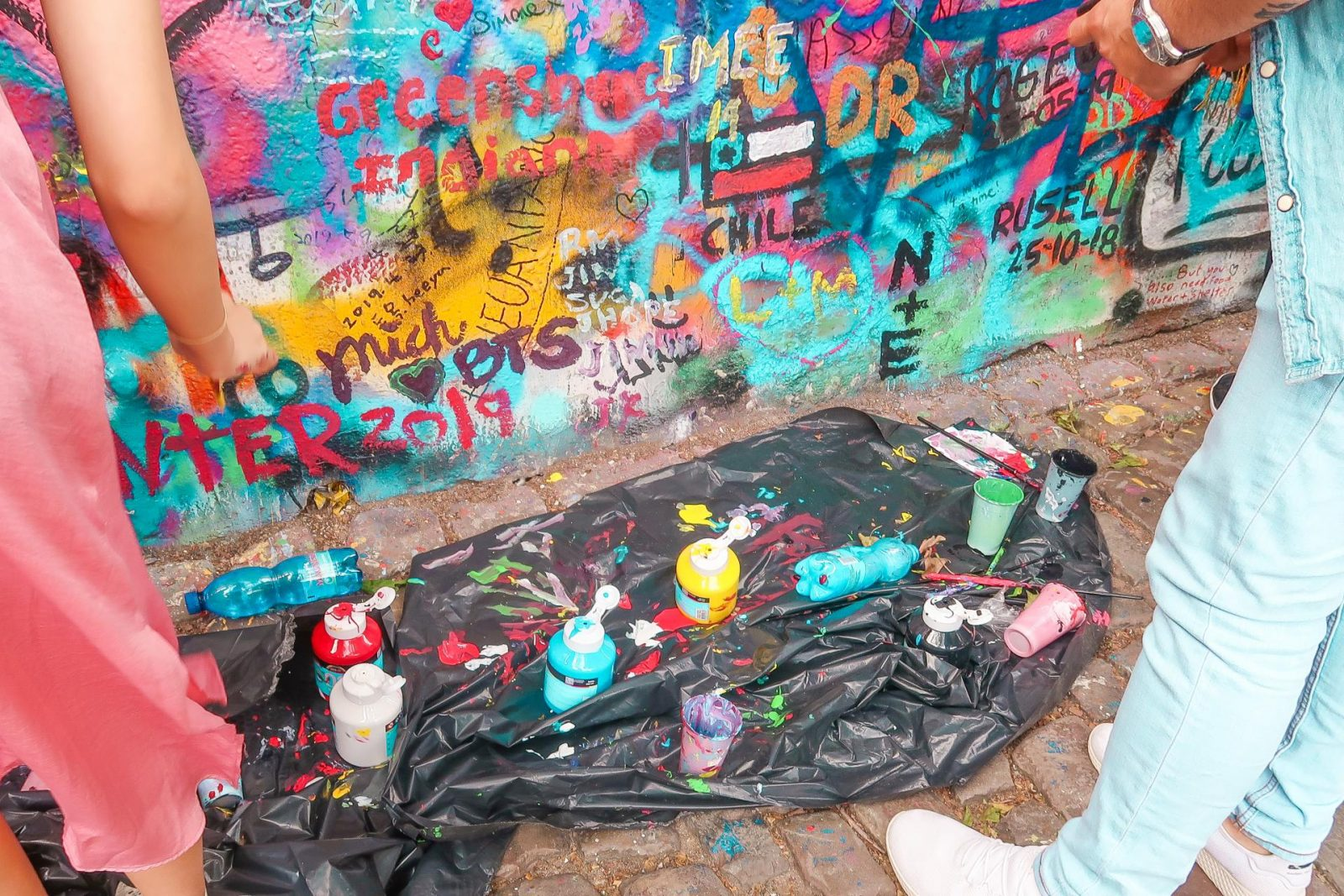 Prague - John Lennon Wall