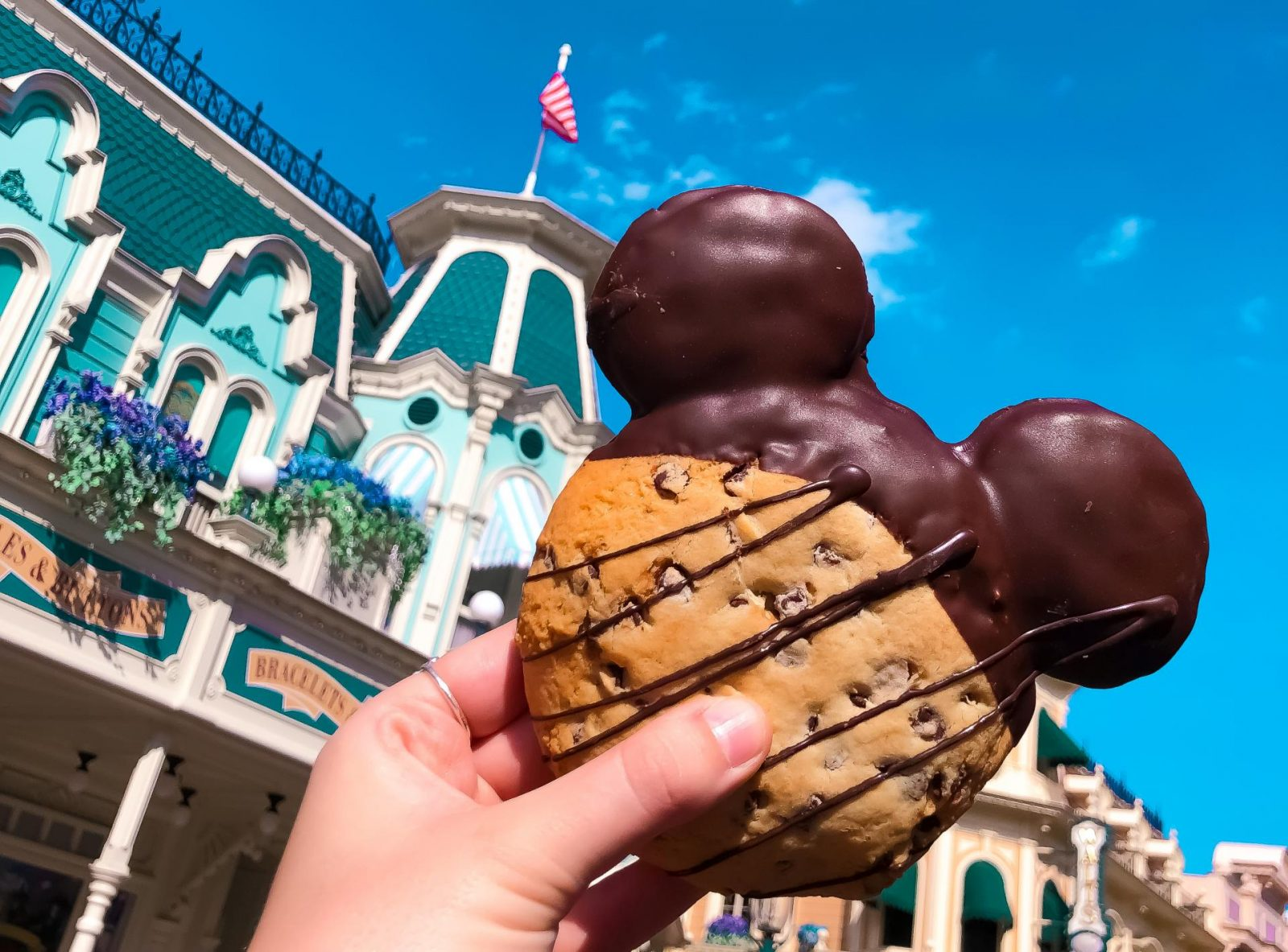 tips for disneyland paris nutella cookie