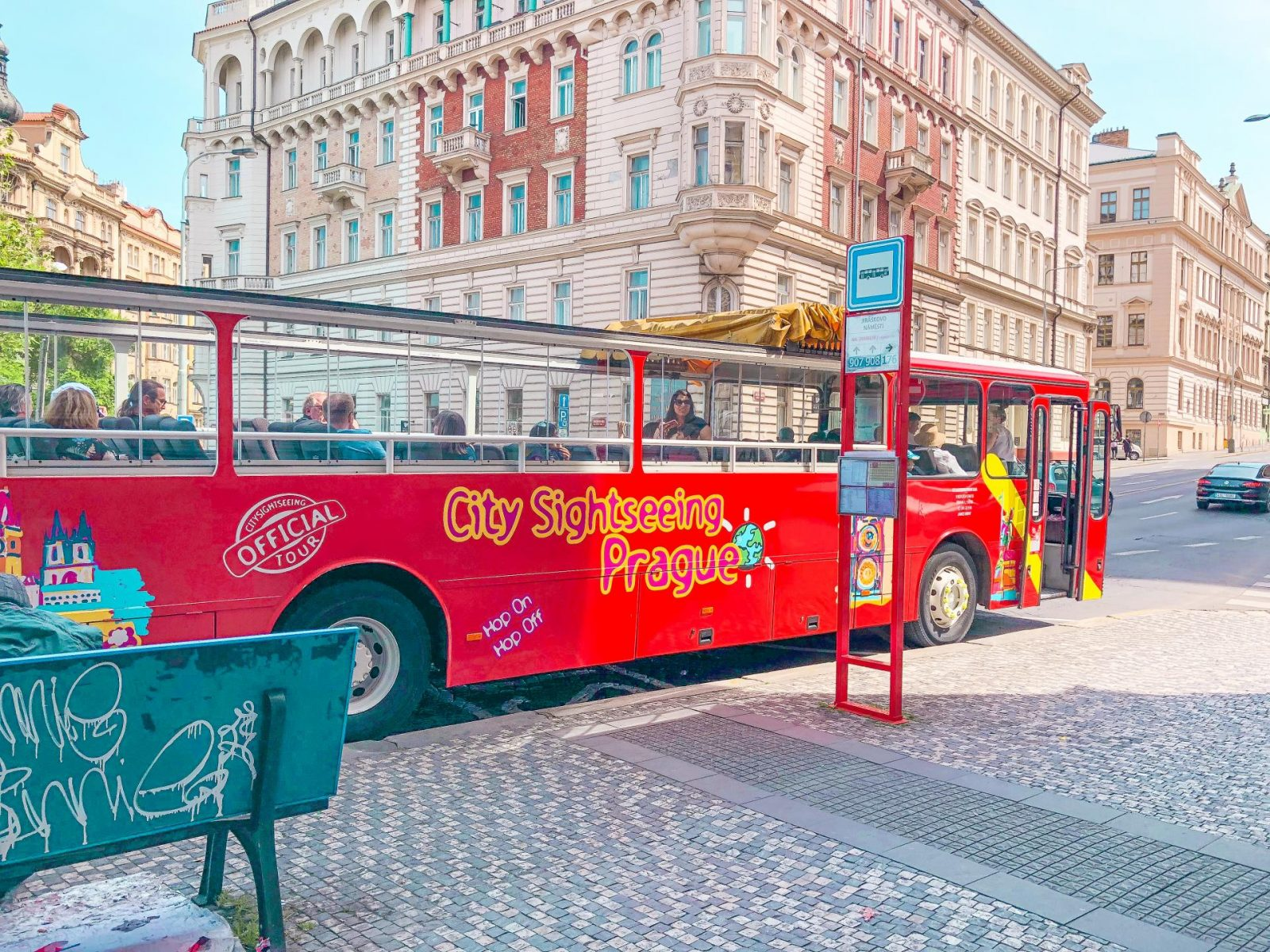 Prague - City Sightseeing bus