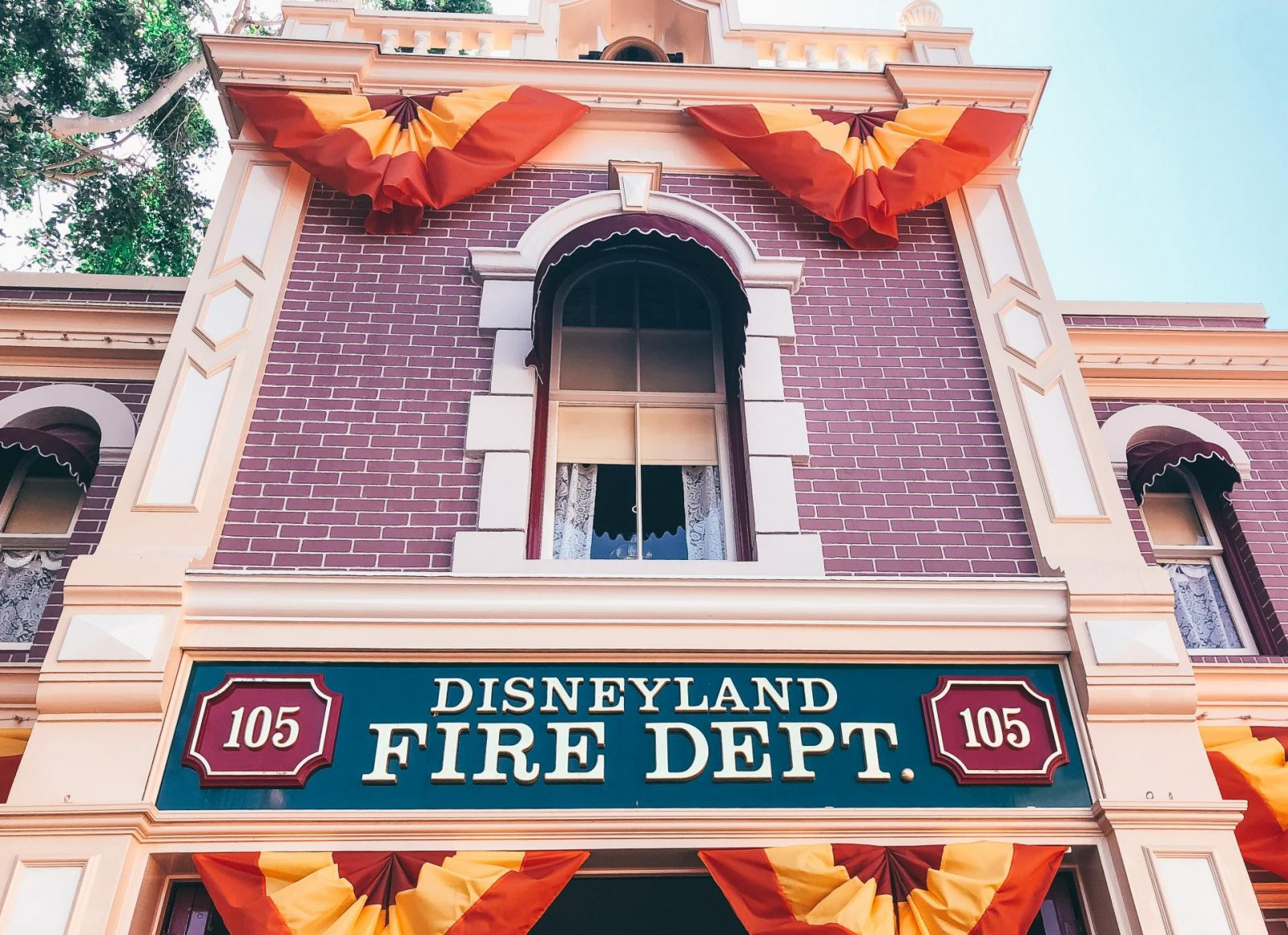 Walk in Walt's Disneyland Footsteps Tour Fire Dept.