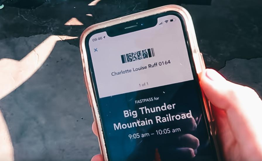 FastPass ticket using MaxPass