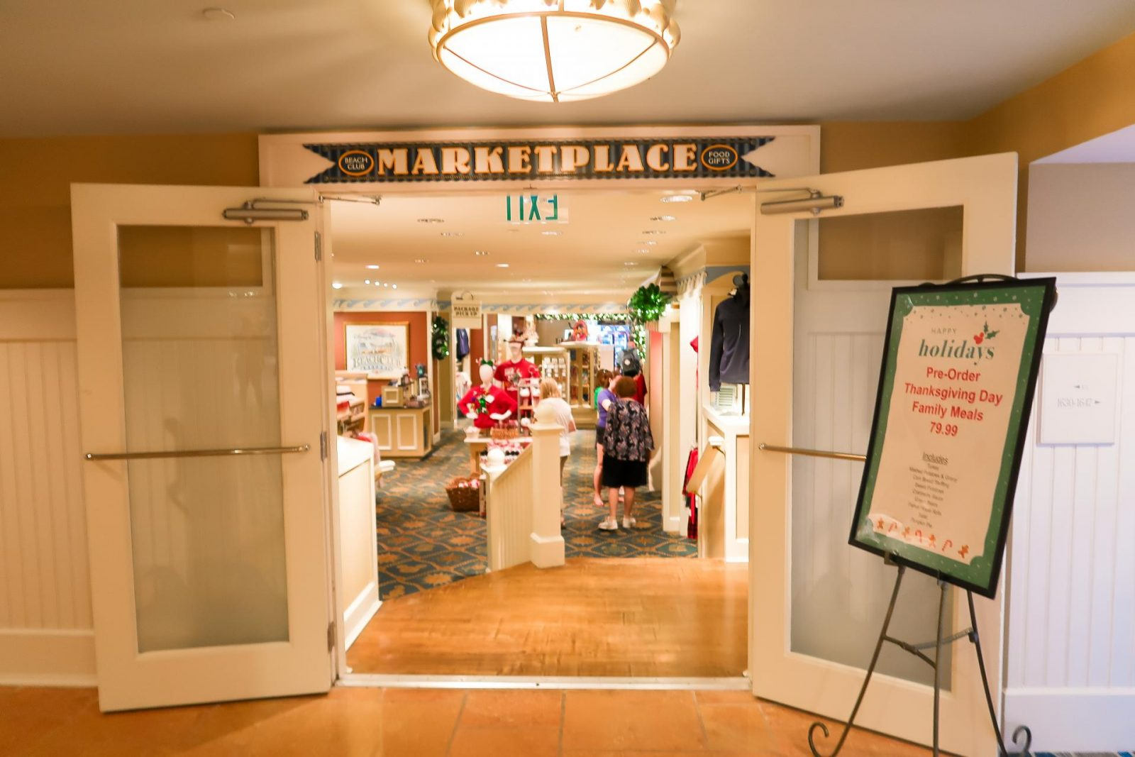 Marketplace Gift shop at Disney's Beach Club Resort