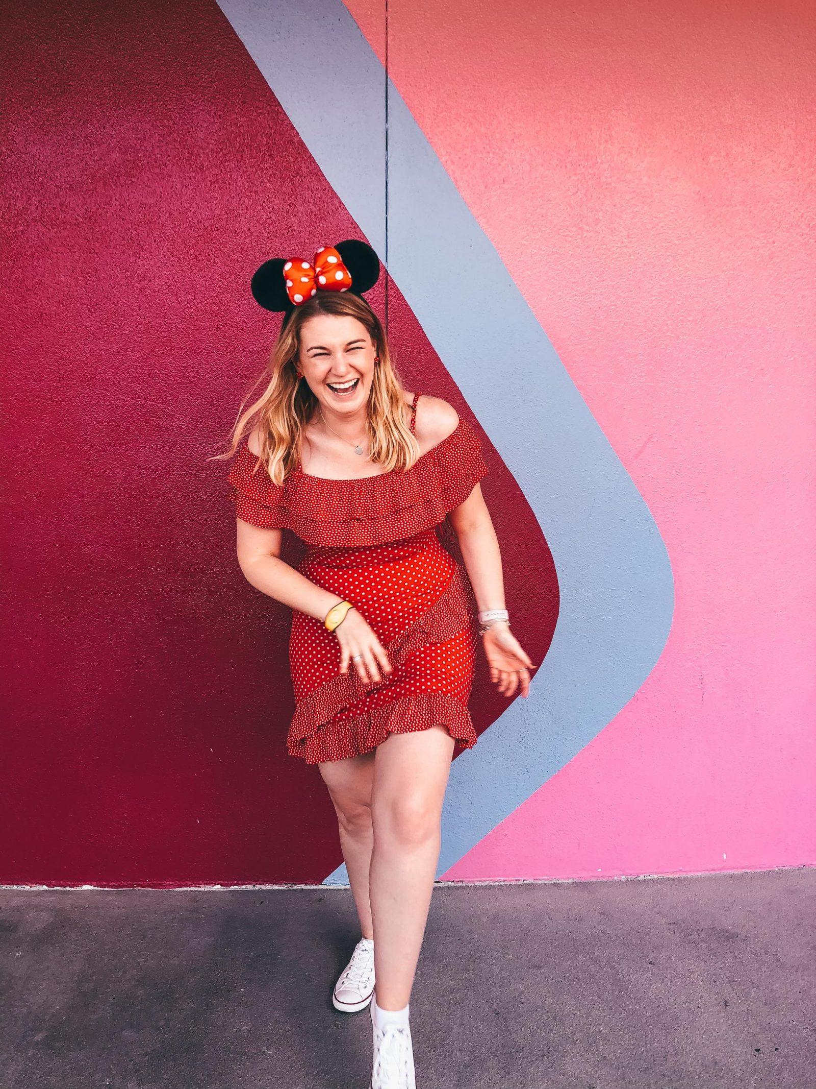 Bubblegum Wall - Disney World Instagram Walls