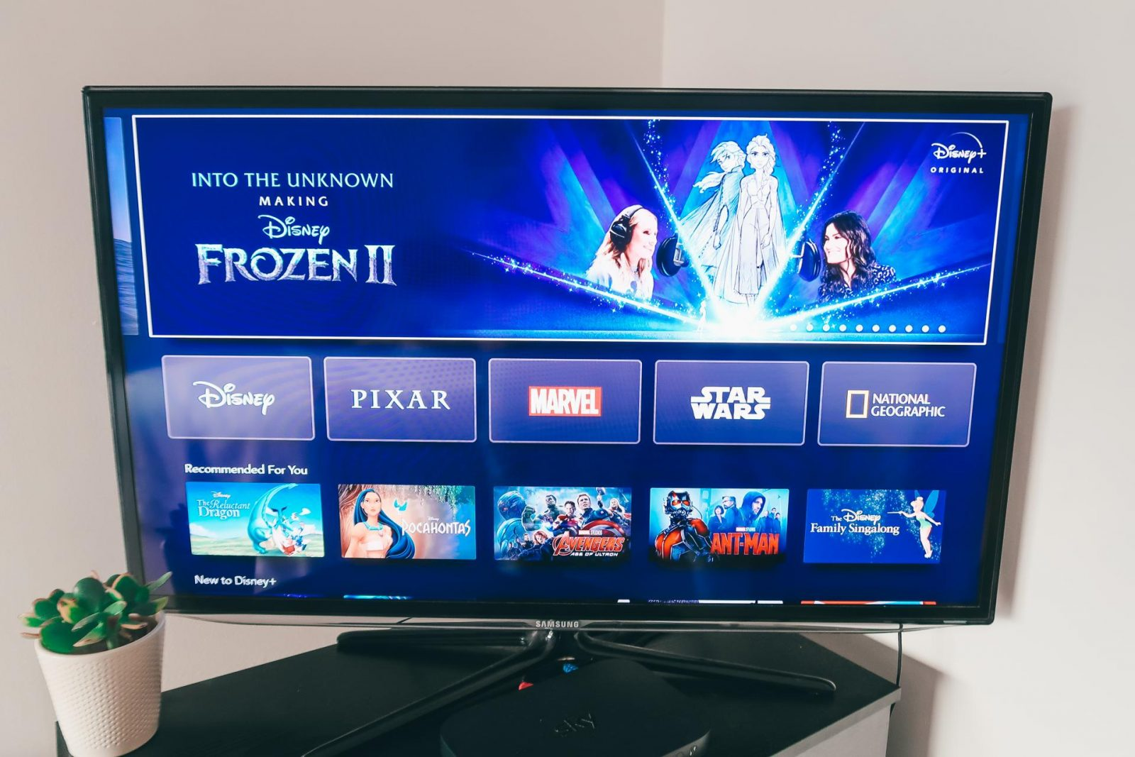 What to watch on Disney plus: Into the Unknown: The Making of Frozen 2.