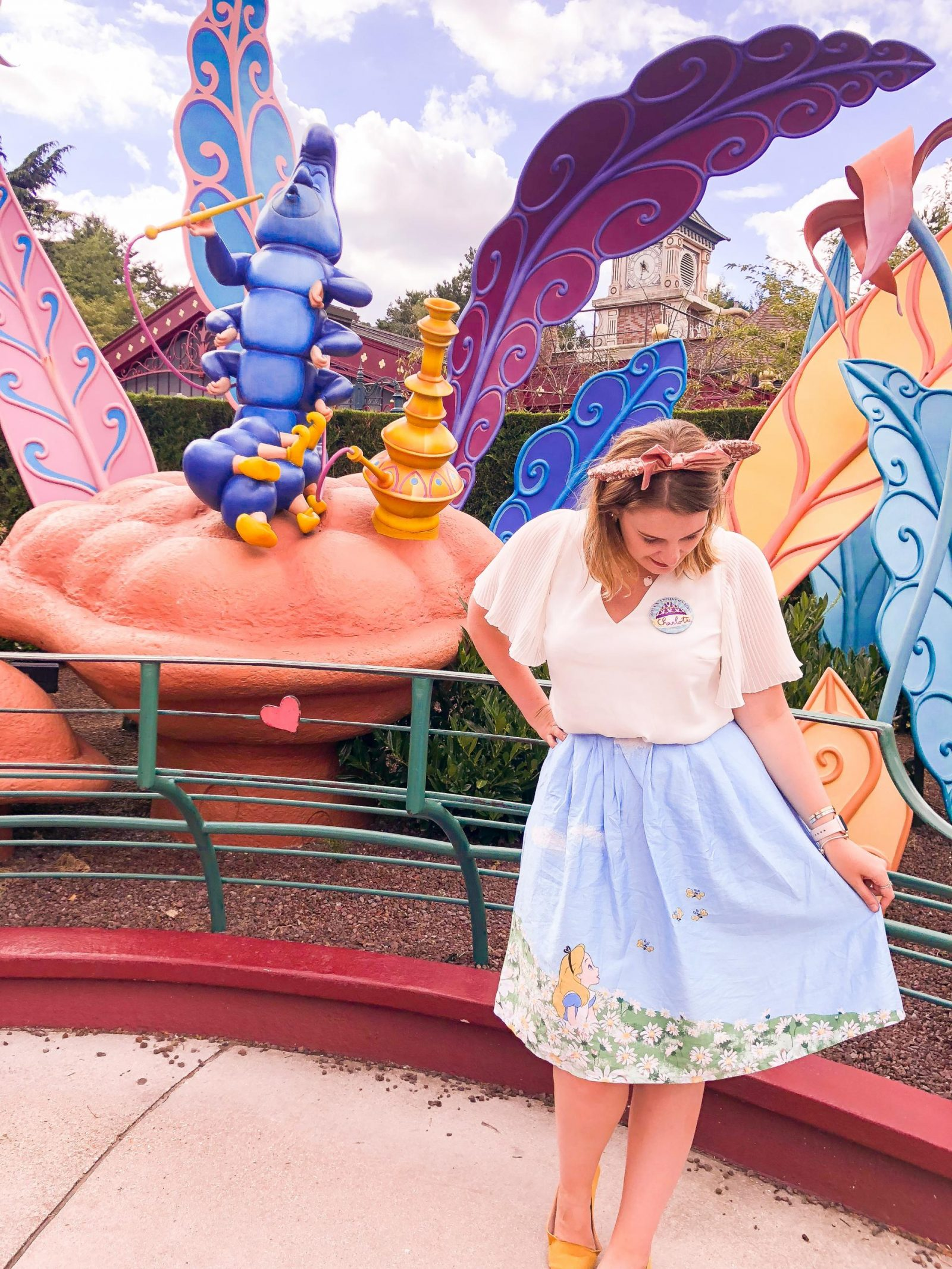 Alice's Curious Labyrinth - one of the most Instagrammable spots at Disneyland Paris