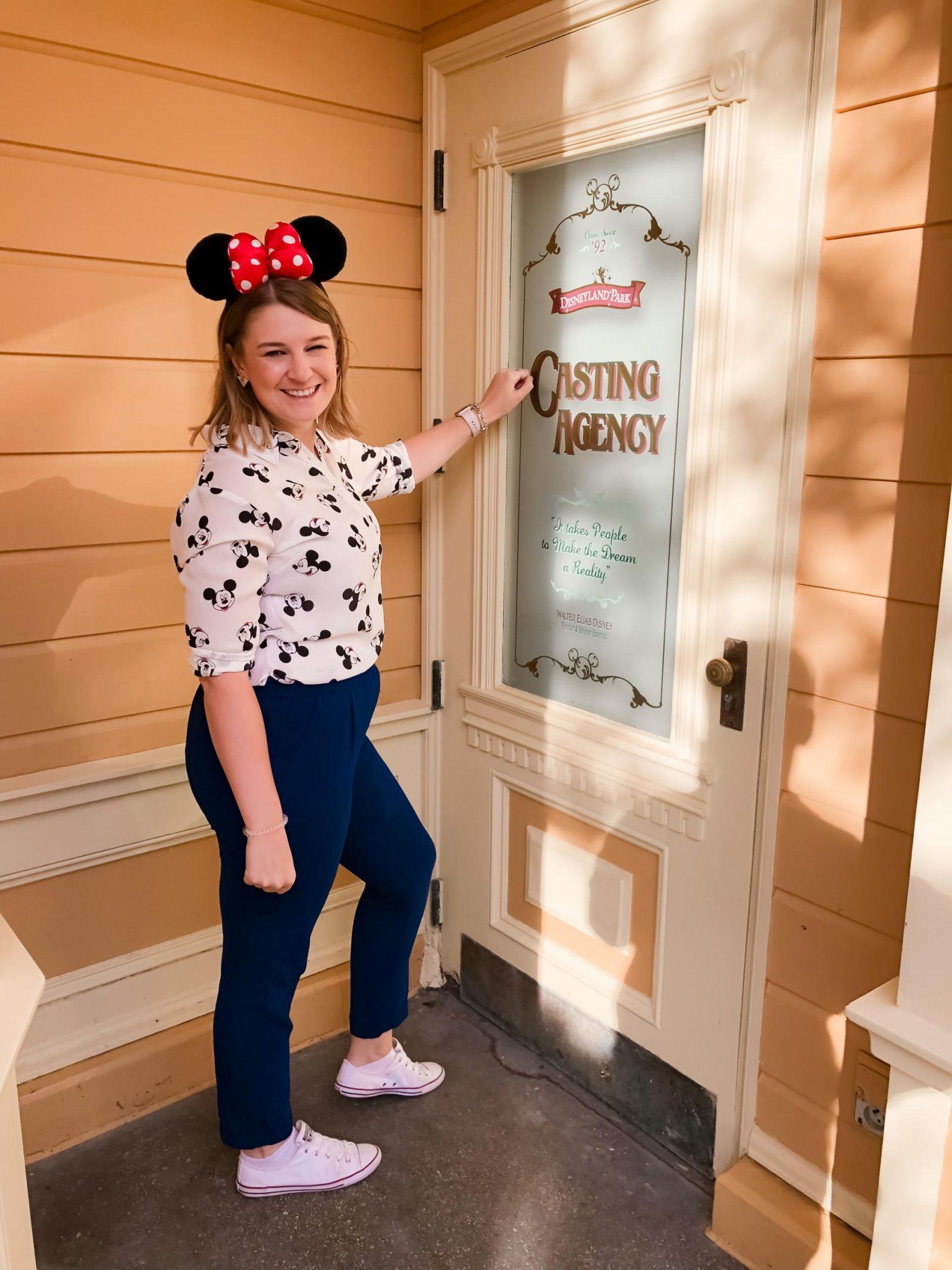 Casting Door - one of the most Instagrammable spots at Disneyland Paris