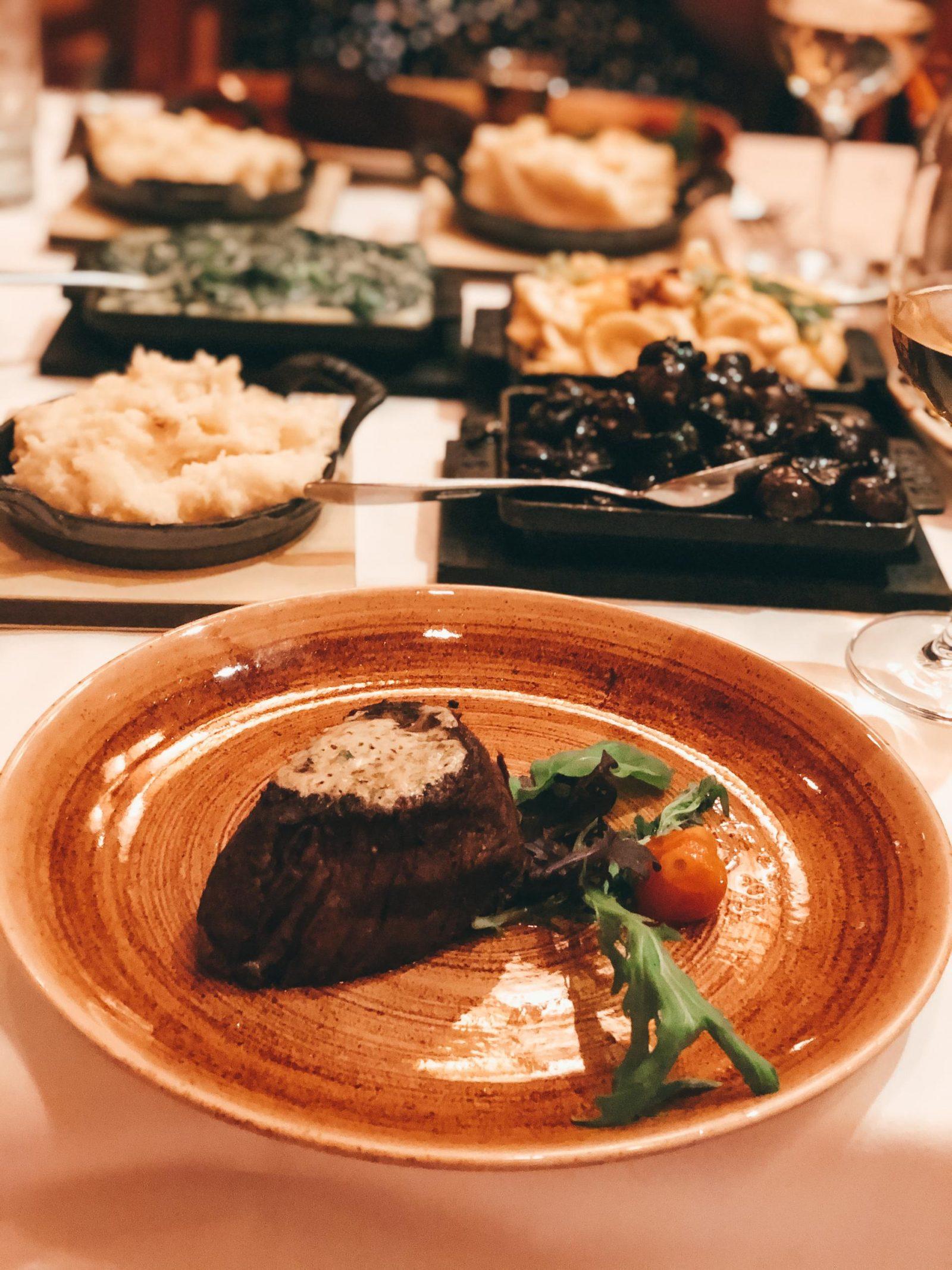 Dinner at Yachtsman Steakhouse - my Disney Bucket List