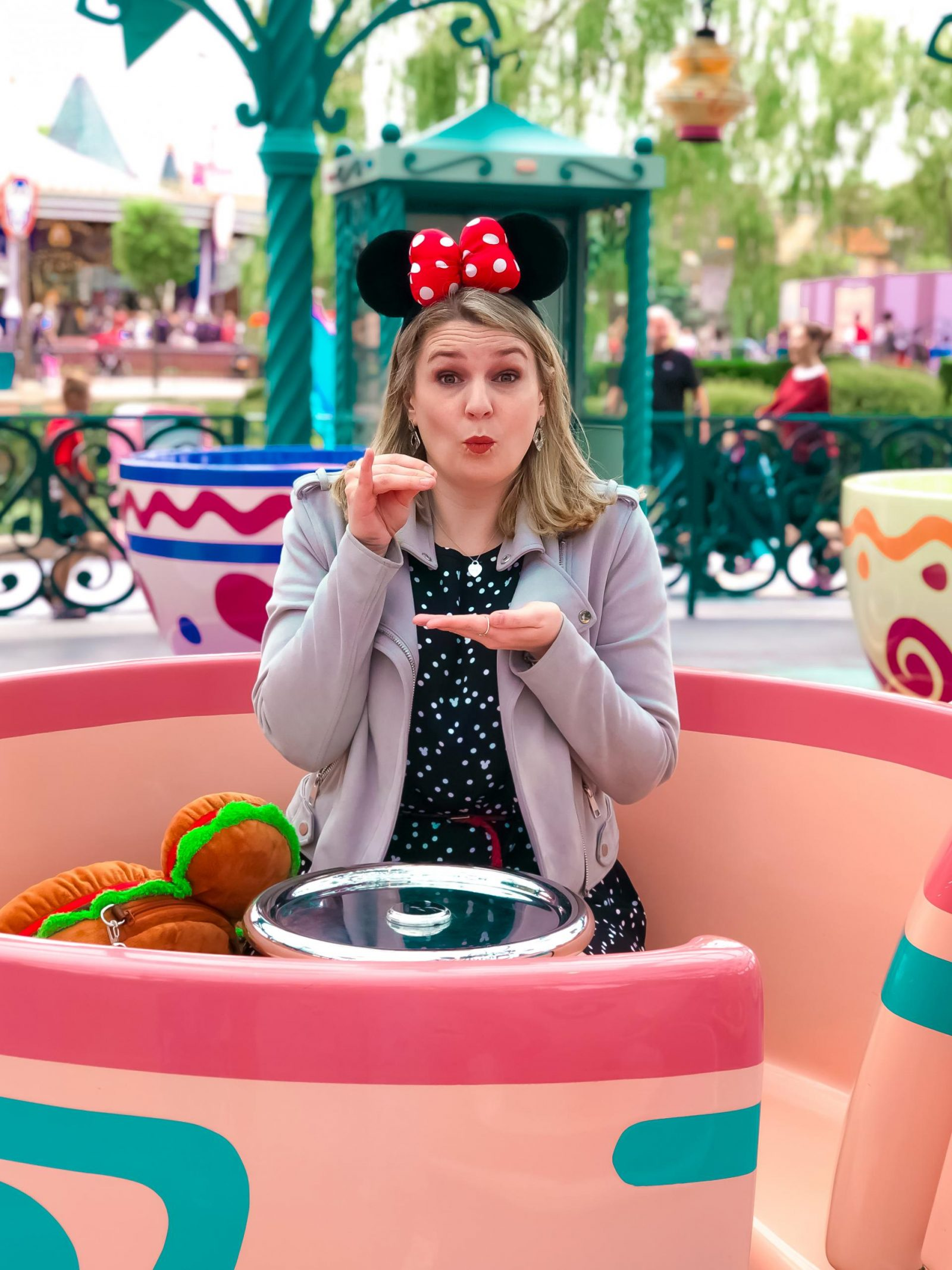 Mad Hatter's tea Party - one of the most Instagrammable spots at Disneyland Paris