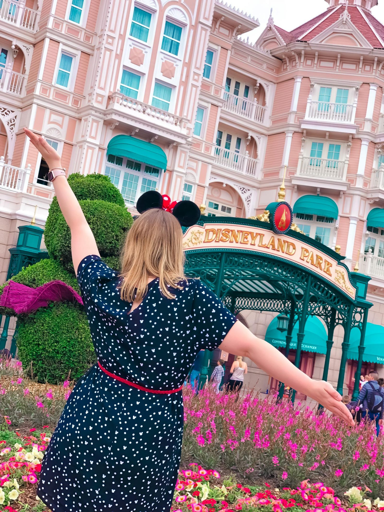Disneyland Hotel - one of the most Instagrammable spots at Disneyland Paris