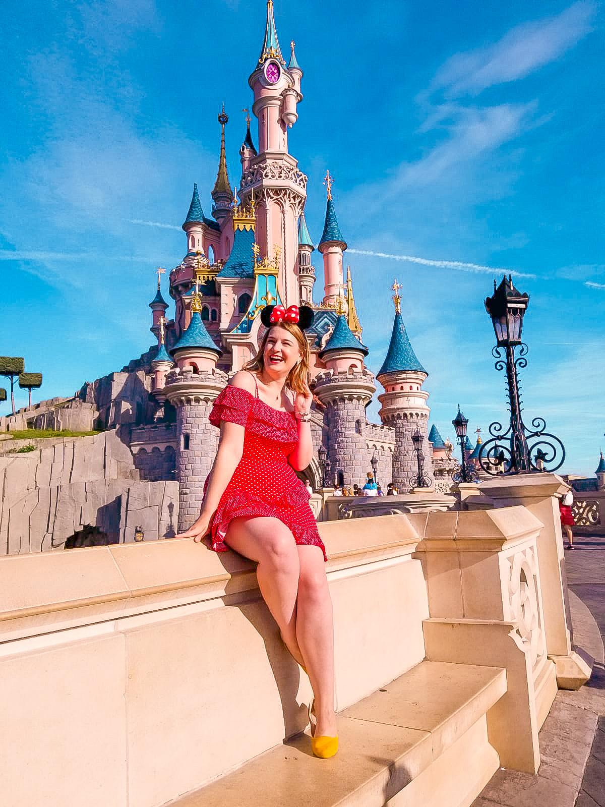 Sleeping Beauty Castle - one of the most Instagrammable spots at Disneyland Paris
